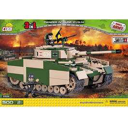 Cobi Small Army Bausatz Panzer IV Ausf. F1 / G / H - 3in1- 500 Teile 2508