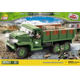 Cobi Small Army Bausatz CCKW 353 Transport Truck 350 Teile 2378