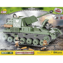 Cobi Small Army Bausatz Panzer SU-76M Tank Destroyer 400 Teile 2380 - Limited Edition