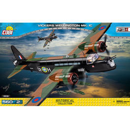 Cobi Small Army Bausatz Bomber Vickers Wellington MK. 1C 560 Teile 5531