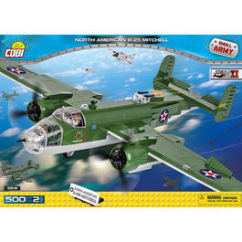 Cobi Small Army Bausatz Bomber B-25 Mitchell US Army 500 Teile 5541