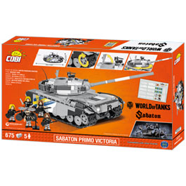 Cobi World Of Tanks Bau Panzer Sabaton Primo Victoria 675 Teile 3034