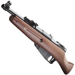 Sport-Waffen - Gletcher M1891 CO2 Luftgewehr Kal. 4,5mm Stahl BB Holzoptik