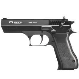 CO2 Pistolen - Gletcher JRH 941 CO2 Luftpistole 4,5mm Stahl BB Metallschlitten schwarz