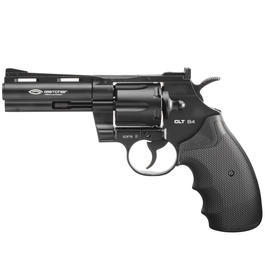 CO2 Pistolen - Gletcher CO2 Revolver CLT B4 Kal. 4,5mm Stahl BB Vollmetall schwarz