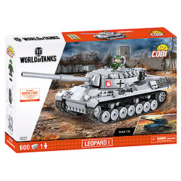 Cobi World Of Tanks Small Army Bausatz Panzer Leopard I 600 Teile 3037