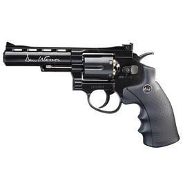 Luftpistolen - ASG Dan Wesson 4 Zoll 4,5mm BB CO2 Rvolver schwarz