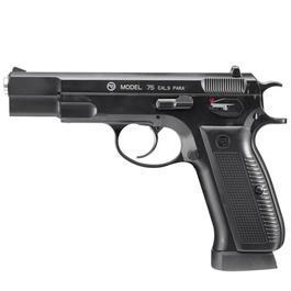 Freizeit Luftdruckwaffen - ASG Luftpistole CZ75 Ceska Zbrojovka CO2 4,5mm BB Vollmetall