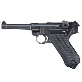 CO2 Pistolen - Legends P08 CO2 Luftpistole 4,5mm BB Blowback Vollmetall
