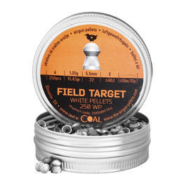 Coal Diabolos Field Target White Pellets 5,5mm 250 Stück