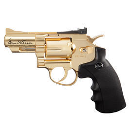 ASG Dan Wesson 2,5 Zoll 4,5mm BB CO2 Revolver gold