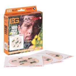 Gamo CO2 - Gamo Bear Grylls Zielscheiben 14x14 cm Heuschrecken 100 Stück