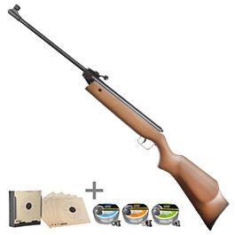 Umarex Waffen - Perfecta Modell 45 Luftgewehr 4,5mm inkl. Kugelfang, Zielscheiben, Diabolos