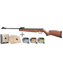 Walther Tactical - Walther Terrus WS Luftgewehr 4,5 mm inkl. Kugelfang, Zielscheiben, Diabolos