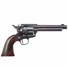 Colt Single Action Army 45 blue CO2 Revolver 4,5 mm BB Starterset