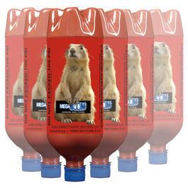 Armbrust online kaufen - MegaBOOM Flaschen-Set Präriehund 6 Stück rot