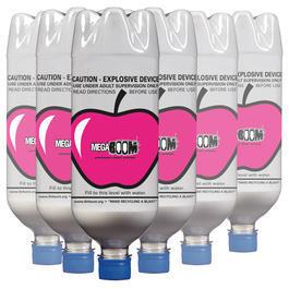 Armbrust online kaufen - MegaBOOM Flaschen-Set Apple 6 Stück weiß