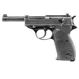Walther P38 Legendary Edition CO2 Luftpistole Kal. 4,5mm Stahl BB schwarz