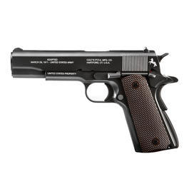Colt 1911 A1 Commemorative CO2 Luftpistole Limited Edition Kal. 4,5mm Stahl BB schwarz
