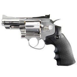 Sport-Waffen - ASG Dan Wesson2,5 Zoll CO2 Revolver Kal. 4,5mmDiabolo silber