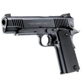 Colt M45 CQBP Vollmetall CO2 Pistole 4,5 mm BB Starterset