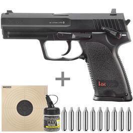 Heckler & Koch USP CO2 Pistole 4,5 mm BB Starterset