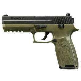 Sig Sauer P250 CO2 Luftpistole 4,5mm Diabolo dark earth Blowback
