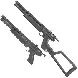 Sport-Waffen - Crosman Benjamin Marauder PCP Pressluftpistole Kal. 5,5mm Diabolo schwarz