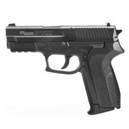 Luft-Pistolen - Sig Sauer SP2022 CO2 Luftpistole4,5 mm Stahl-BB Metallschlitten schwarz