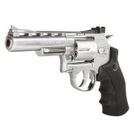 Legends S40 CO2 Revolver 4 Zoll Kal. 4,5mm Diabolo chrom Komplettset