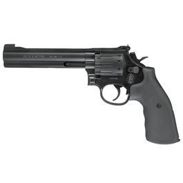 Smith & Wesson Mod. 686 6 Zoll CO2 Revolver Kal. 4,5mm (.177) Diabolo Graphite Black