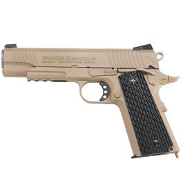 Swiss Arms P1911 CO2 Luftpistole Kal. 4,5mm BB Military Rail