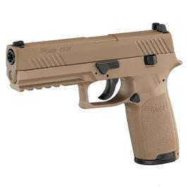 Sig Sauer P320 CO2-Luftpistole Kal. 4,5 mm Diabolo/Stahl-BB Blow Back coyote tan