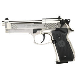 Beretta M92 FS CO2 Pistole 4,5mm (.177) Diabolo Polished Chrome