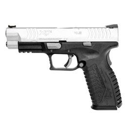 Springfield XDM CO2-Luftpistole 4,5mm BB Blowback Bicolor