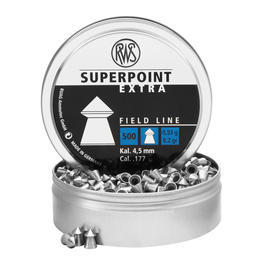 RWS Spitzkopf -Diabolo Superpoint Extra 4,5mm Field Line 0,53g