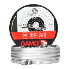 Gamo Flachkopf-Diabolos Match 4,5mm 500 Stück