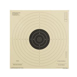 Luftpistolen - Schießscheiben 17 x17 cm, 250 Stück