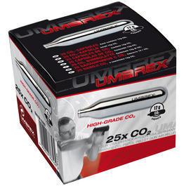 Walther Luftpistolen - UMAREX CO2 Kapseln 12g, 25er Pack