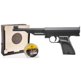 Record LP2 4,5mm Komplettset mit 200 Diabolos, Zielscheiben und Kugelfang