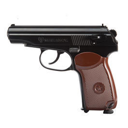 Legends Makarov CO2 Pistole 4,5 mm BB brüniert Vollmetall