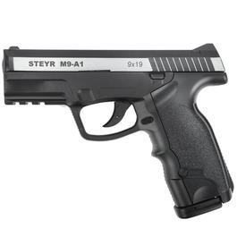 Blowback - ASG Steyr M9A1 m. Metallschlitten 4,5mm BB CO2 Pistole Dual Tone