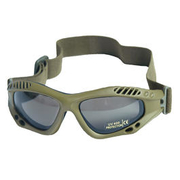 Mil-Tec Brille Commando Air-Pro smoke oliv