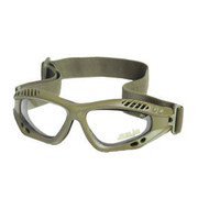 Mil-Tec Brille Commando Air-Pro klar oliv