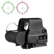 Aim-O X3 Type  Holosight rot/grün QD Mount schwarz AO 5063-BK