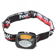 Fox Stirnlampe 4+3 LED