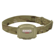 Princeton Tec LED Stirnlampe Quad Tactical sand/multicam 60 Lumen