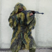 Ghillie Parka Anti-Fire woodland