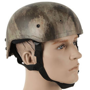 Bravo Airsoft MICH 2001 LW Helm Replika AT Camo