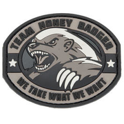 3D Rubber Patch Honney Badger swat